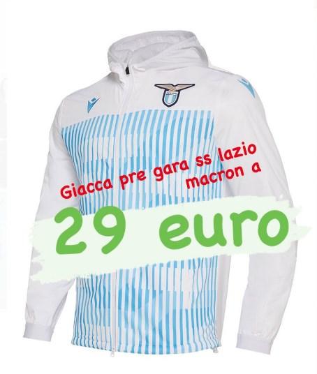 LAZIO, FUORI TUTTO AL LAZIO FAN SHOP FINO A 29 EURO!